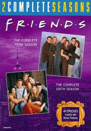 Friends: Complete 5th & 6th Seasons (DVD)