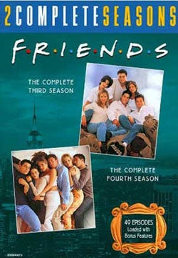 Friends: Complete 3rd & 4th Seasons (DVD)
