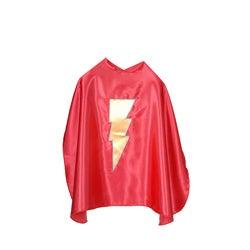 Power Capes Red Lightning Bolt Superhero Cape