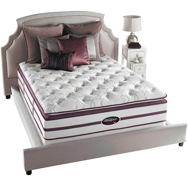 Beautyrest Elite Plato Plush Firm Super Pillow Top Queen-size Mattress Set