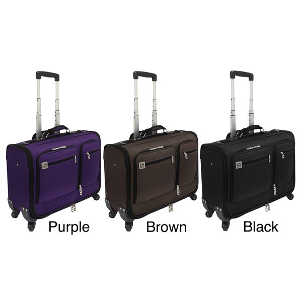 U.S. Traveler Quincy Carry-on Spinner Garment Bag with 42-inch Handle