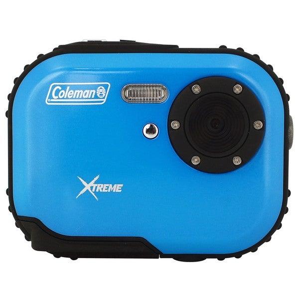 Coleman Mini Xtreme C3WP-BL 5MP Waterproof Blue Digital Camera