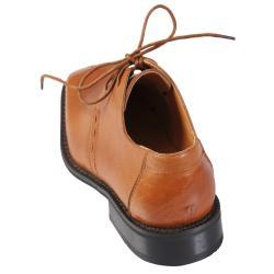 Boston Traveler Executive Collection Men's Leather Oxford Shoes