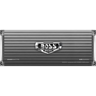 Boss ARMOR AR2500M Car Amplifier - 1200 W RMS - 2500 W PMPO - 1 Chann