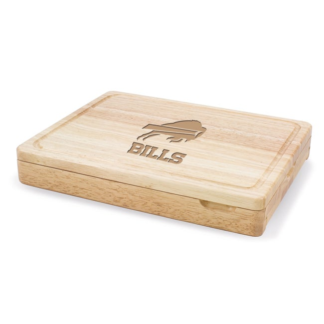 Picnic Time Buffalo Bills Asiago Folding Cutting Board