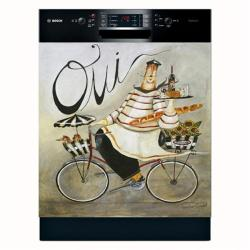Appliance Art 'Oui' Dishwasher Cover