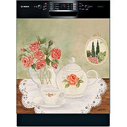 Appliance Art 'Tea Time' Dishwasher Art