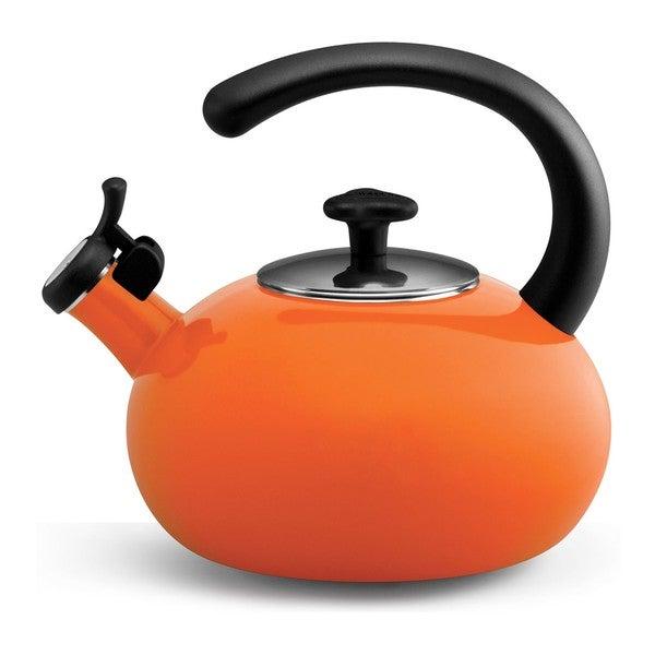 Rachael Ray 'Curve' Orange 2-quart Tea Kettle