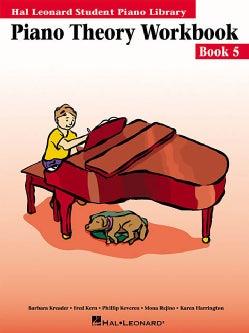 Piano Theory Workbook, Book 5 (Paperback)