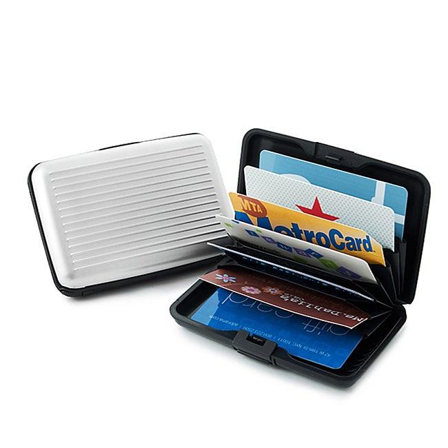 Aluminum RFID Blocking Credit Card Guard Wallet