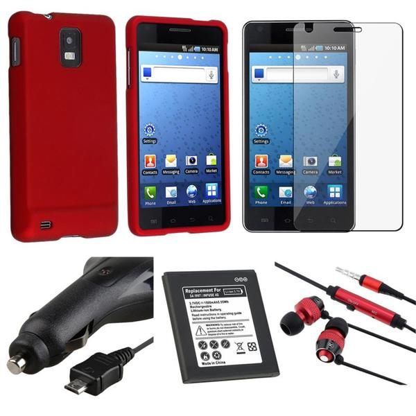 BasAcc Case/ Charger/ Headset/ Battery Samsung Infuse i997 4G