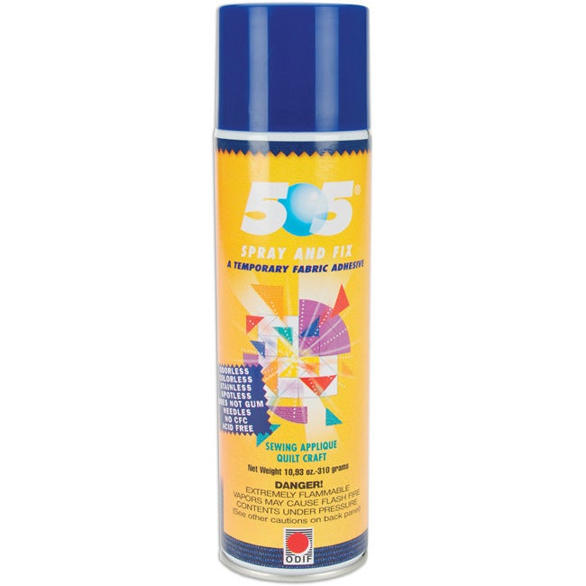 505 Spray & Fix Temporary Fabric Adhesive