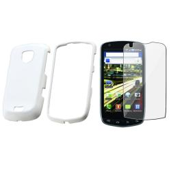 White Case/ Screen Protector for Samsung Droid Charge SCH-i510/  i520