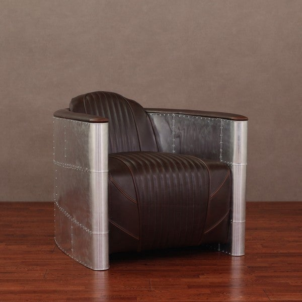 Accelerator Vintage Tobacco Leather Chair