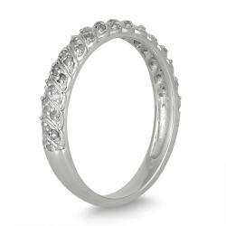 10k White Gold 1/4ct TDW Diamond Wedding Band (I-J, I1-I2)