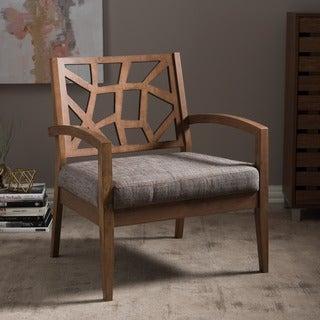 Jennifer Wooden Modern Lounge Chair