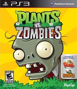 PS3 - Plants vs Zombies
