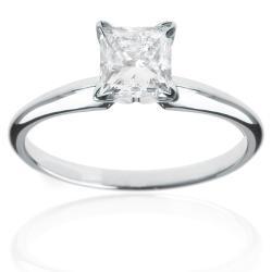 14k White Gold 2ct TDW Diamond Solitaire Engagement Ring (H-I, I1-I2)