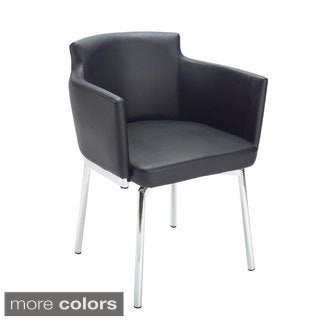 Sunpan Garcia Metal Black Swivel Chair