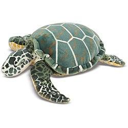 Melissa & Doug Plush Sea Turtle Animal Toy
