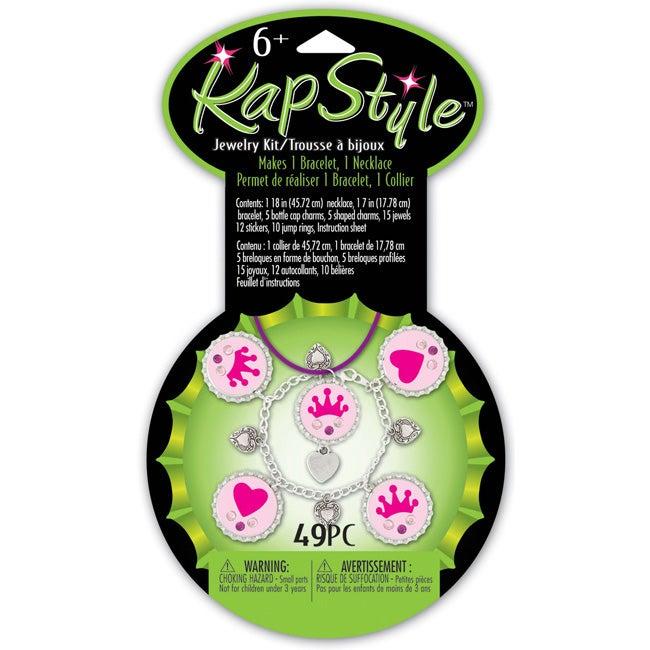 Westrim Crafts Girly Princess Kapstyle Jewelry Kit (Pack of 2)