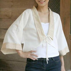 Women's Cotton 'Thai Sophistication' Blouse (Thailand)