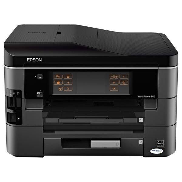 Epson WorkForce 845 Inkjet Multifunction Printer - Color - Plain Pape