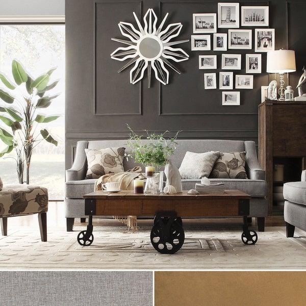 INSPIRE Q Winslow Concave Arm Modern Sofa