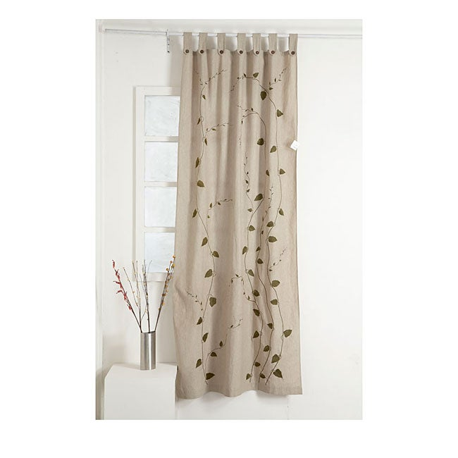 cream 92 inch curtain panel india overstock shopping
