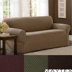 Maytex Stretch Pixel 1-piece Loveseat