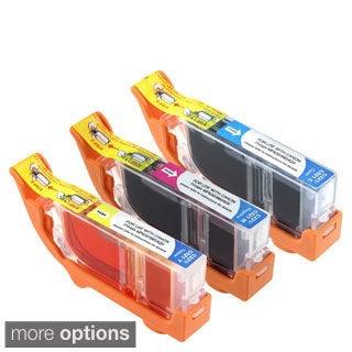INSTEN Canon MX860/ MP990/ CLI-221 Cyan/ Magenta/ Yellow Ink Cartridges