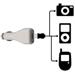INSTEN Data Cable/ Travel and Car Charger for Apple iPod Shuffle 2nd Gen