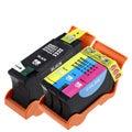 INSTEN Dell V313/ V313W Black/ Color Ink Cartridges (Pack of 3)