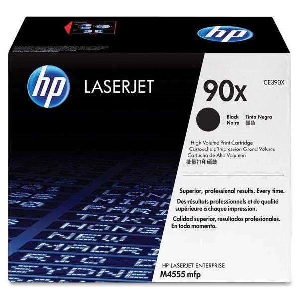HP 90X (CE390X) High Yield Black Original LaserJet Toner Cartridge