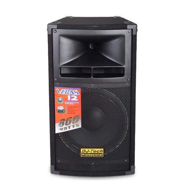 DJ Tech VEGAS12 2-Way 12-inch Loudspeaker
