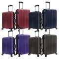 Traveler's Choice TC5002 Tasmania Polycarbonate 2-piece Expandable 8-wheel Spinner Luggage Set