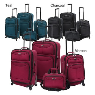 U.S. Traveler by Traveler's Choice 4-piece Expandable Spinner Luggage Set