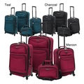 U.S. Traveler US3600 4-piece Expandable Spinner Luggage Set