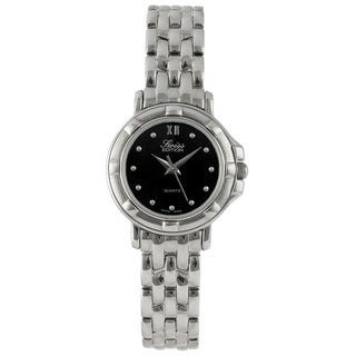 Swiss Edition Women's Silvertone Stainless Steel Watch