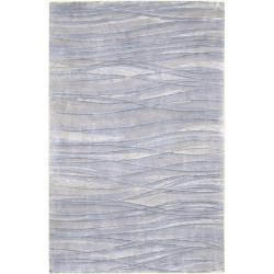 Julie Cohn Hand-knotted McKinney Abstract Design Wool Rug (8' x 11')