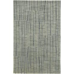 Julie Cohn Hand-knotted Warren Abstract Design Wool Rug (9' x 13')