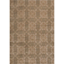 Miramar Grey Transitional Area Rug (5'3 x 7'6)