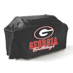 Mr. BBQ Georgia Bulldogs 65-inch Gas Grill Cover