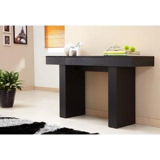 Furniture of America Perry Modern Black Finish Sofa Table