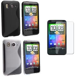 TPU Cases/ Screen Protector for HTC Inspire 4G