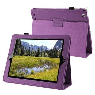 INSTEN Premium Purple Tablet Case Cover for Apple iPad 2 / 3 / New iPad