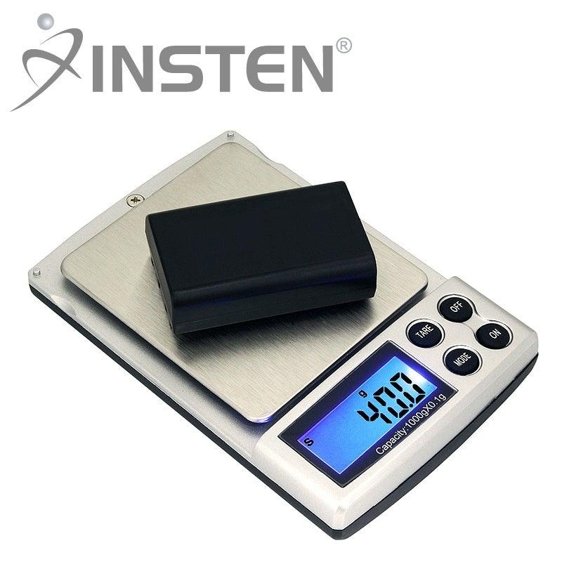 INSTEN Black Mini 2-pound Digital Pocket Gem and Jewelry Scale