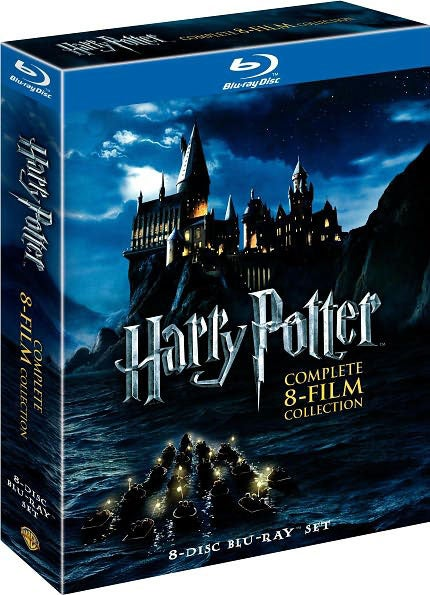 Harry Potter: The Complete Collection Years 1-7 (Blu-ray Disc)