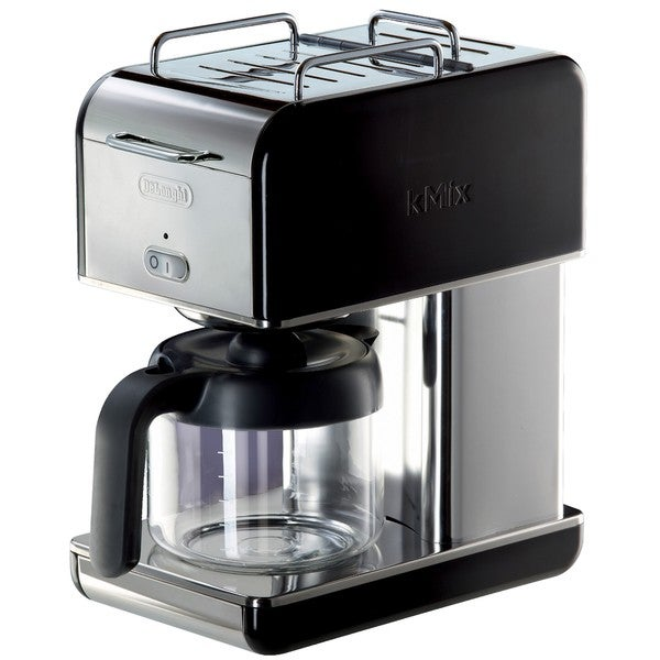 DeLonghi kMix 10-cup Black Drip Coffee Maker
