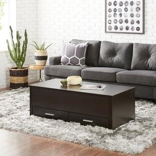 Furniture of America Knox Dark Espresso Storage Box Coffee Table